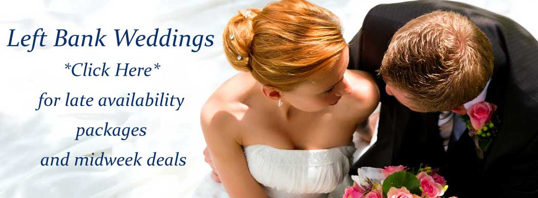 Wedding Hire at Hereford Left Bank