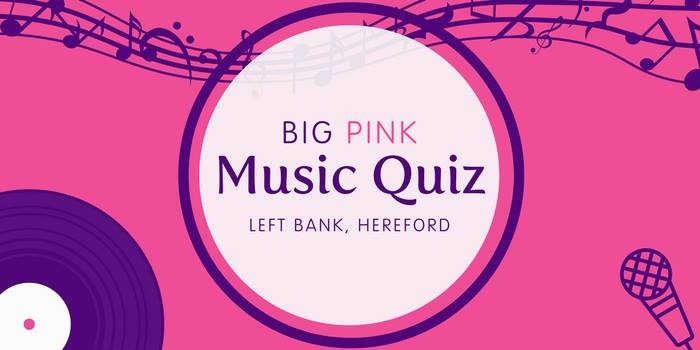 Big Pink Music Quiz