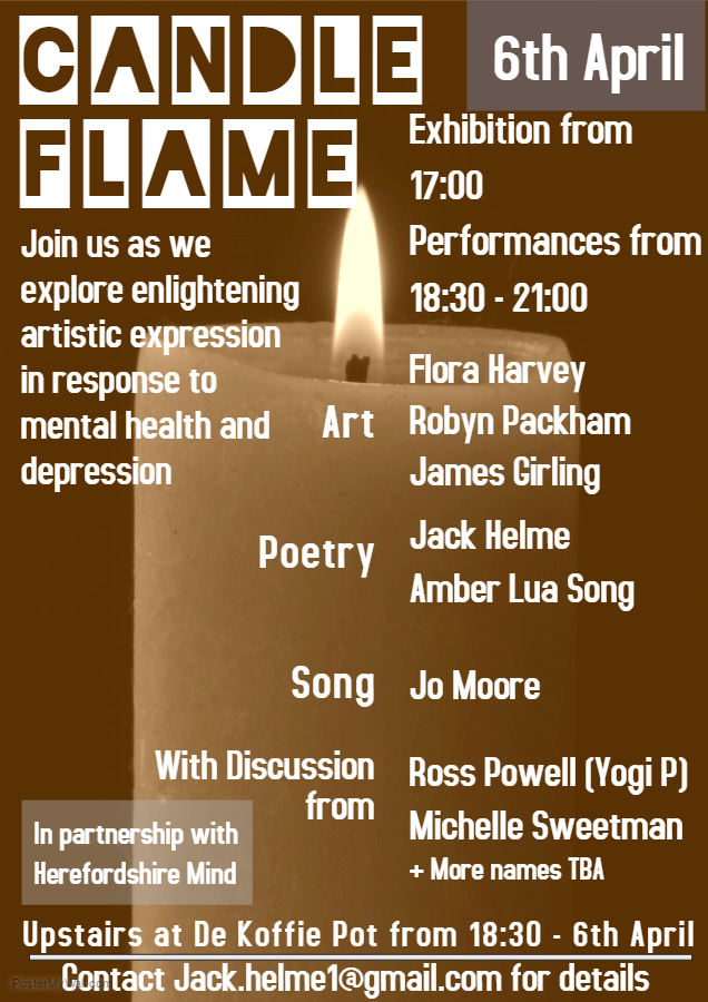 Candle Flame Poster (002)