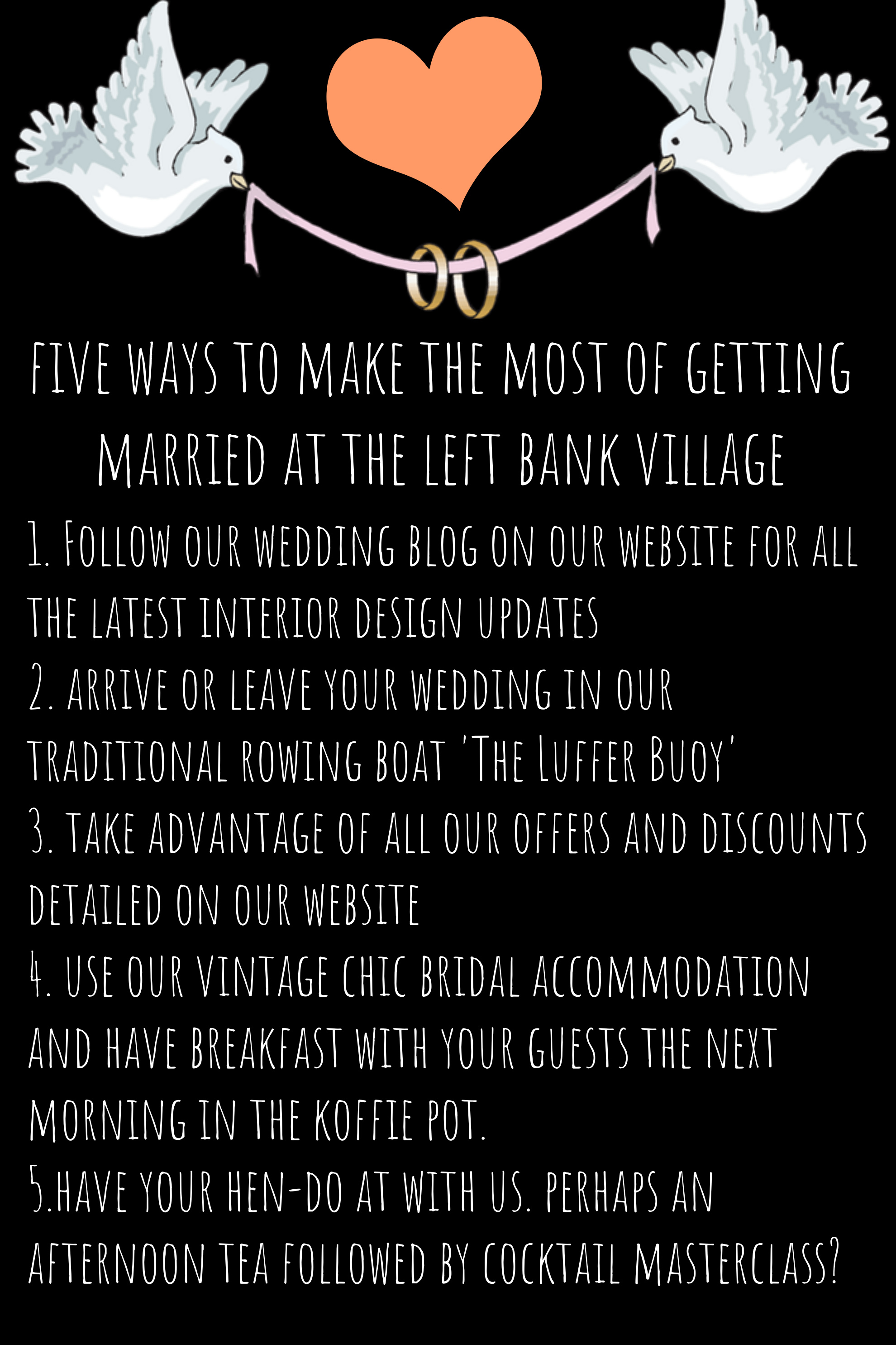 making most of wedding