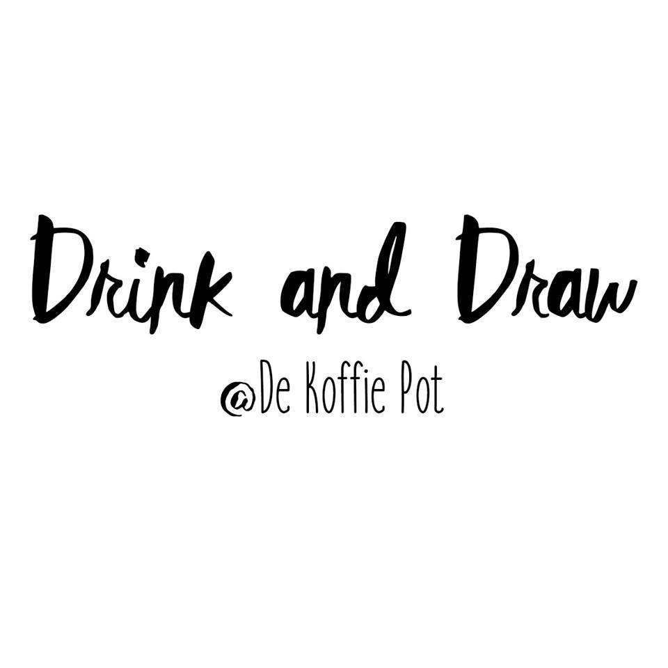 how to draw a drink