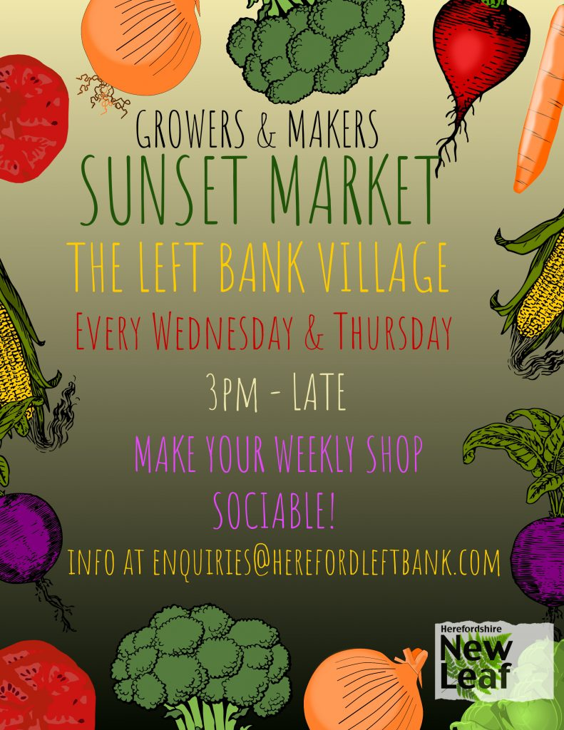 Growers & Makers Weekly Sunset Market