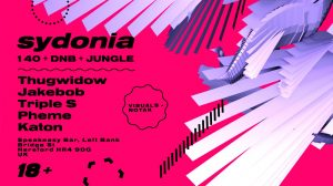 Sydonia 2 at The Speakeasy @ The Speakeasy | England | United Kingdom