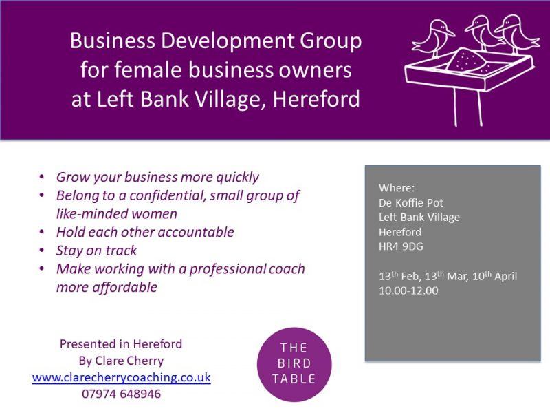 Business Development Group for Female Business Owners - The Left Bank Village