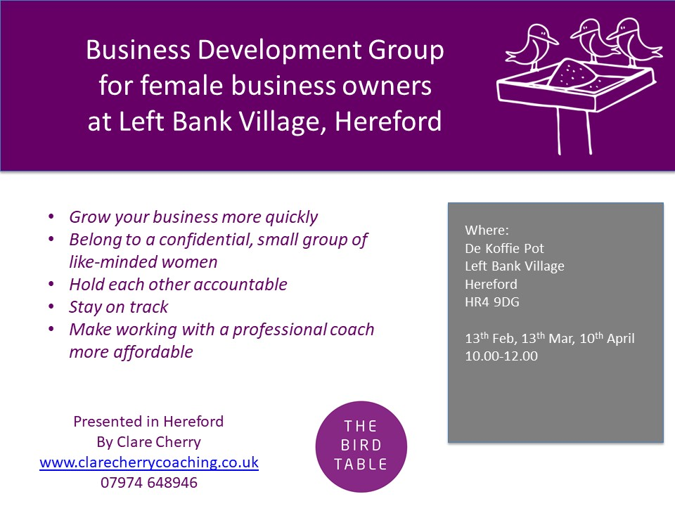 Business Development Group for Female Business Owners