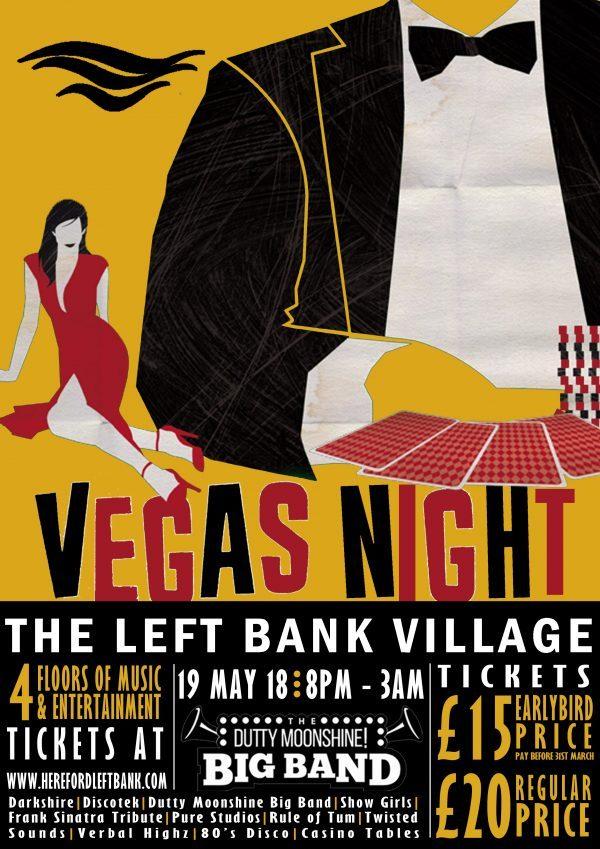 Vegas Night at The Left Bank Village