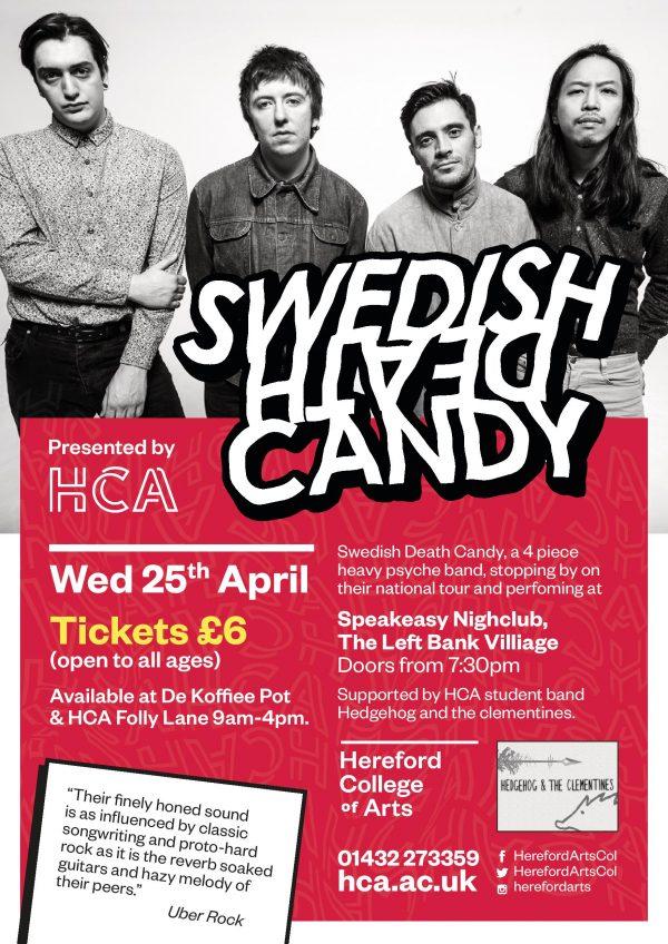 HCA presents Swedish Death Candy @ The Speakeasy | England | United Kingdom
