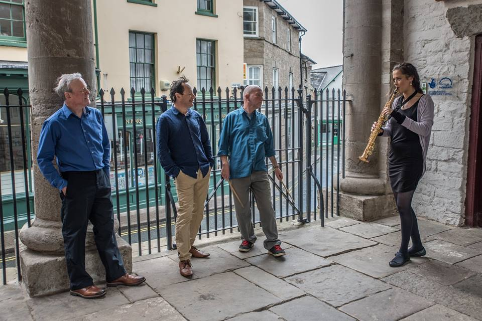 Simon Deeley's Blue Haze Quartet play... From the Blue Hills @ De Koffie Pot | England | United Kingdom