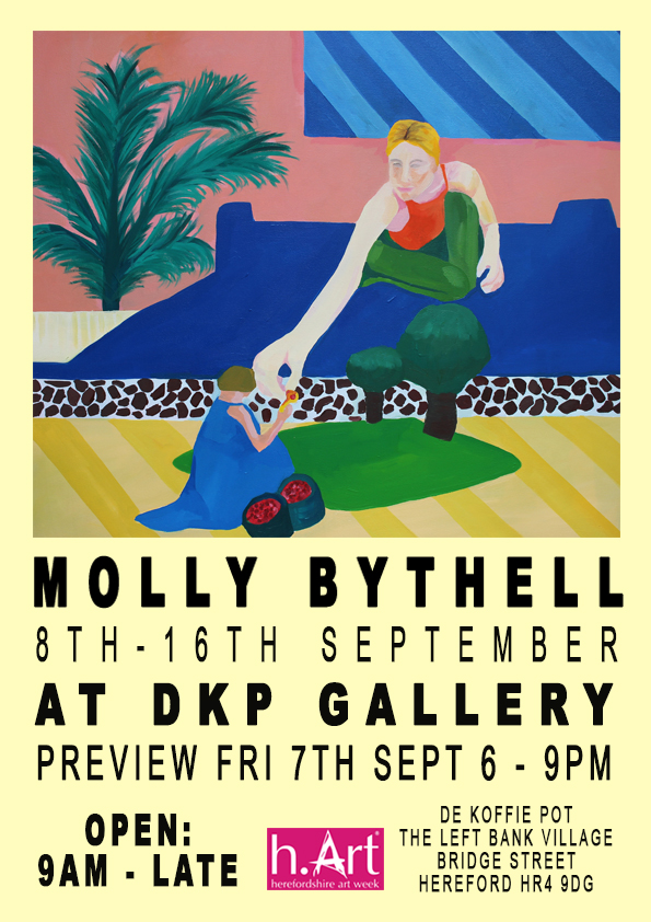 Molly Bythell at DKP Gallery