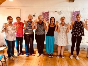 Face Yoga @ Gallery Space, De Koffie Pot