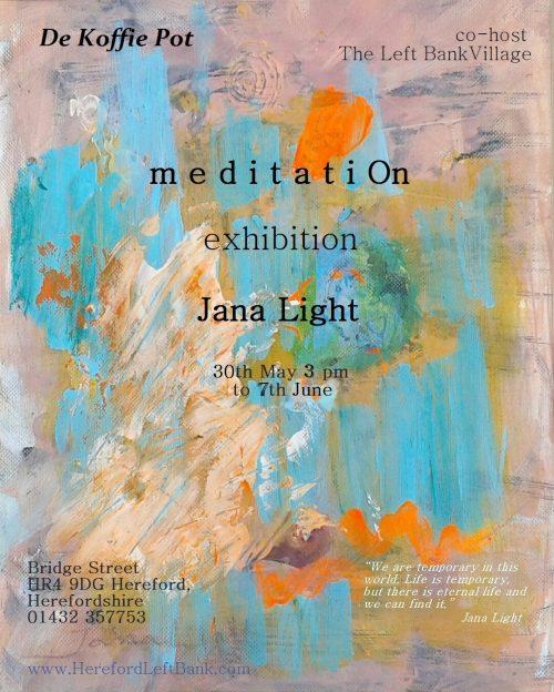 meditatiOn Exhibition - The Left Bank Village