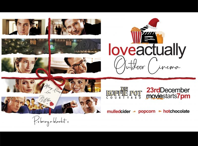 Love Actually Film Screening @ De Koffie Pot, Courtyard | England | United Kingdom