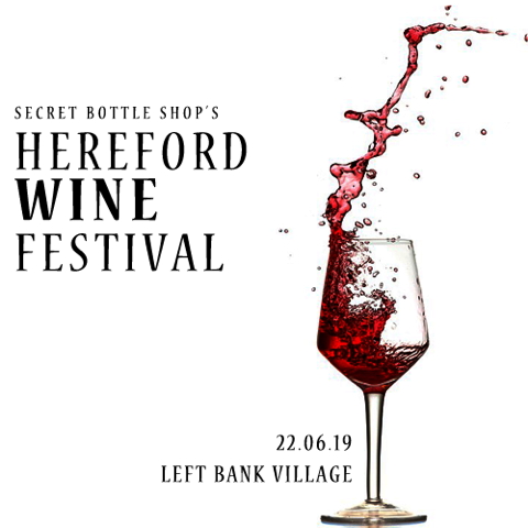 Secret Bottle Shop's Hereford Wind Festival 22nd June 2019 at the Left Bank Village