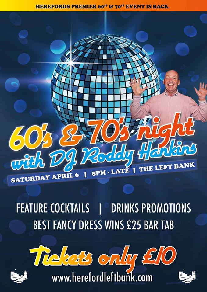 60s/70s Themed Disco Night @ Left Bank Village