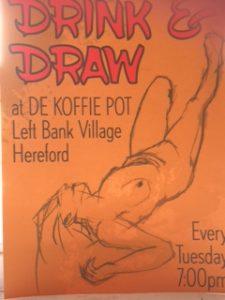 Drink & Draw Life Drawing @ De Koffie Pot