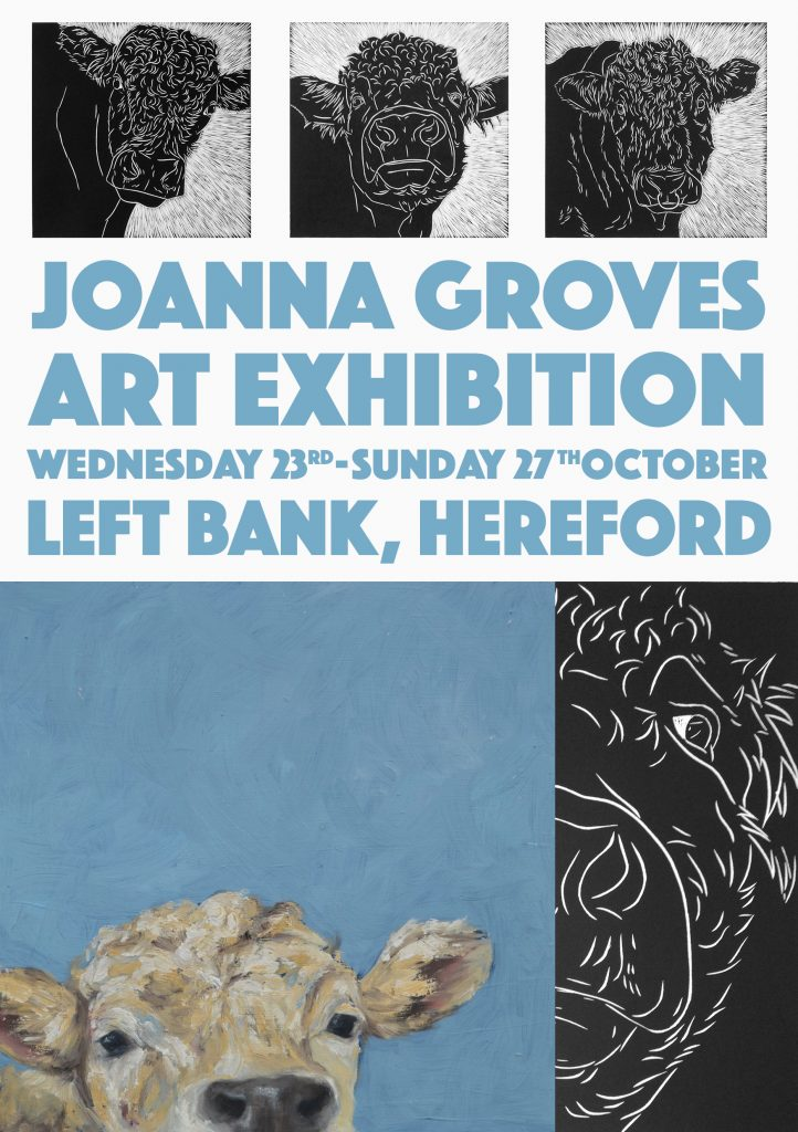 Joaana Groves Art Exhibition 23rd Oct - 27th Oct 2019
