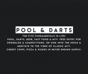 Pool & Darts at the Speakeasy