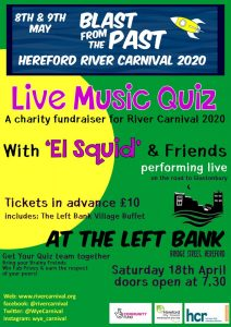 Live Music Quiz - Hereford River Carnival @ The Left Bank